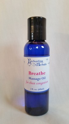 Breathe Chest Congestion Massage Oil