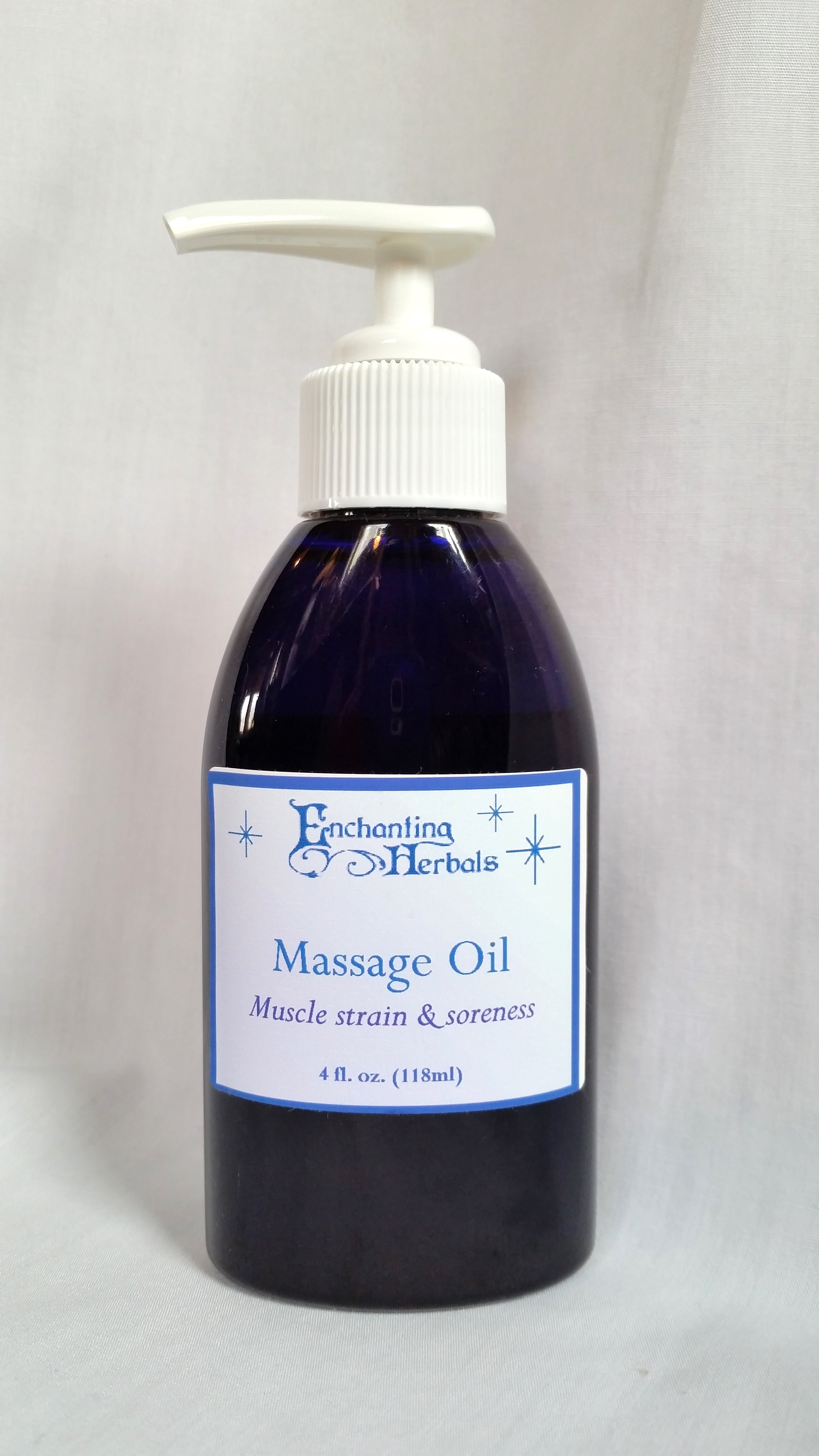 Muscle Strain & Soreness Massage Oil